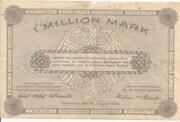 1,000,000 Mark (provincial joint issue of Handelskammer, Landwirtschaftskammer and Handwerkskammer Hannover) – reverse