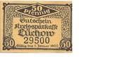 50 Pfennig (Lüchow; Kreissparkasse) – obverse