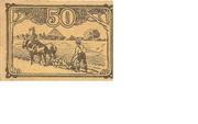 50 Pfennig (Lüchow; Kreissparkasse) – reverse