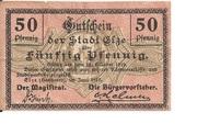 50 Pfennig (Elze) – obverse