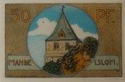 50 Pfennig (Neustadt am Rübenberge; Kreissparkasse) – reverse