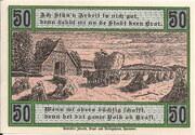 50 Pfennig (Selsingen) – reverse