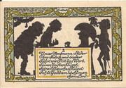 50 Pfennig (Rehburg) – reverse