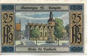 25 Pfennig (Bockenem; Buchdruckerei Rehmann) – reverse