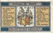 25 Pfennig (Bockenem; Buchdruckerei Rehmann) – obverse