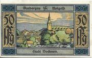 50 Pfennig (Bockenem; Buchdruckerei Rehmann) – reverse
