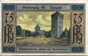 75 Pfennig (Bockenem; Buchdruckerei Rehmann) – reverse