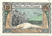 25 Pfennig (Bockswiese-Hahnenklee; Hermann Knüppel) – reverse