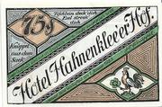 75 Pfennig (Bockswiese-Hahnenklee; Hermann Knüppel) – obverse