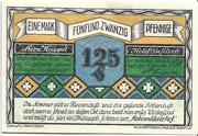 125 Pfennig (Bockswiese-Hahnenklee; Hermann Knüppel) – obverse