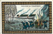 50 Pfennig (Lichtenhorst; Kriegs Gefangenen Lager) – reverse