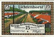 75 Pfennig (Lichtenhorst; Kriegs Gefangenen Lager) – obverse