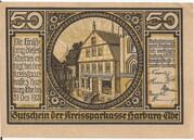 50 Pfennig (Kreissparkasse) – obverse
