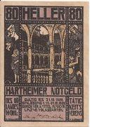 80 Heller (Hartheim) – obverse