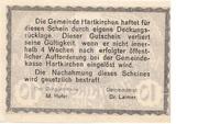10 Heller (Hartkirchen) – reverse