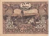 20 Heller (Hartkirchen) – obverse