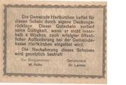 20 Heller (Hartkirchen) – reverse
