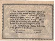 50 Heller (Hartkirchen) – reverse