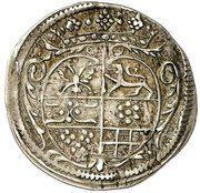 3 Gute Kreuzer - Sebastian II. von Hatzfeld-Gleichen – reverse