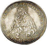 1 Thaler - Melchior von Hatzfeldt-Gleichen – reverse