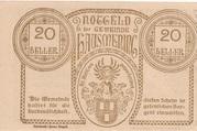 20 Heller (Hausmening) -  reverse