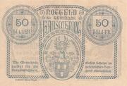 50 Heller (Hausmening) -  reverse