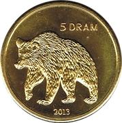 5 Drams (Bear) – reverse