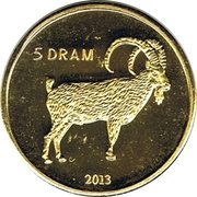 5 Drams (Goat) – reverse