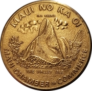 1 Maui Dollar - Chamber of Commerce – obverse