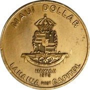 1 Maui Dollar – reverse