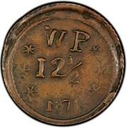 12 ½ Cents - Wailuku Plantation – reverse