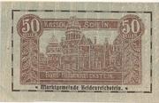 50 Heller (Heidenreichstein) -  obverse