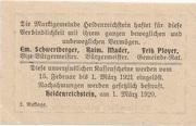 50 Heller (Heidenreichstein) -  reverse
