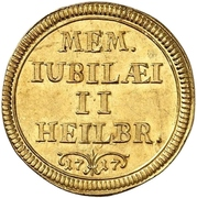 1 Ducat (200 years of the reformation) – obverse