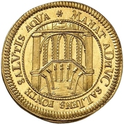 1 Ducat (200 years of the reformation) – reverse
