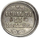 1 Ducat (200 years of the reformation; Silver pattern strike) – obverse