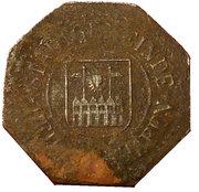 10 Pfennig - Heiligenhafen – obverse