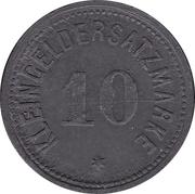10 Pfennig - Heiligenhafen – reverse