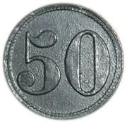 50 Pfennig - Heiligenhafen – reverse