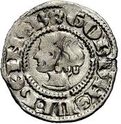 1 Denar - Gottfried II (Köpfchen) – obverse