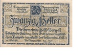 20 Heller (Helfenberg) -  obverse