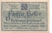 50 Heller (Helfenberg) -  obverse