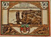 50 Pfennig (Spar- und Leihkasse) – reverse