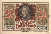 20 Pfennig – reverse
