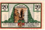 20 Pfennig (Spar- und Leihkasse) – reverse