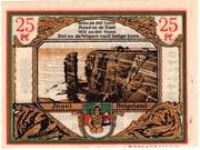 25 Pfennig (Spar- und Leihkasse) – reverse