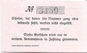 10 Pfennig (Kurhaus Gesundbrunnen) – reverse