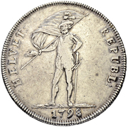 40 Batzen (head facing left) – obverse
