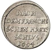 2 Kreuzer - Bernhard (Ausbeute) – reverse