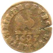 1 Heller - Bernhard von Sachsen-Meiningen – reverse
